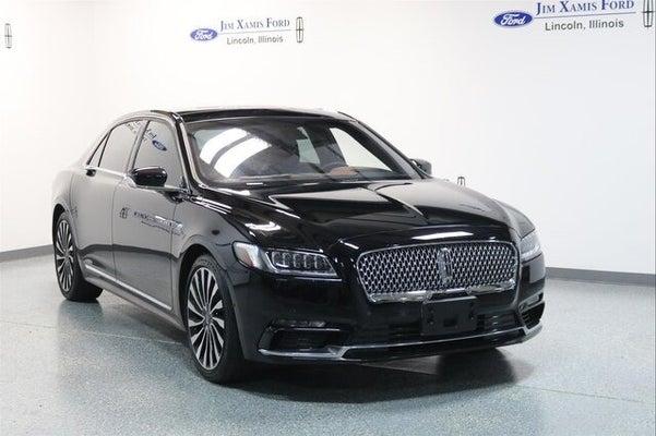 Lincoln Black Label >> 2019 Lincoln Continental Black Label